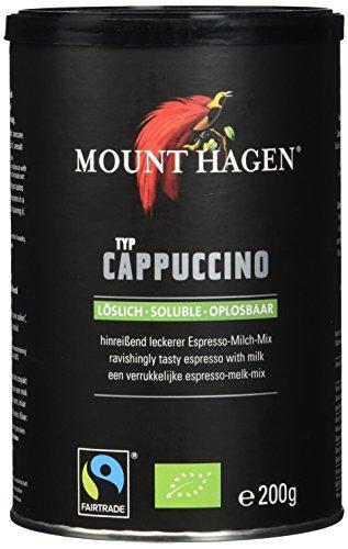 Mount Hagen Cappuccino FairTrade (1 x 200 g) - Bio