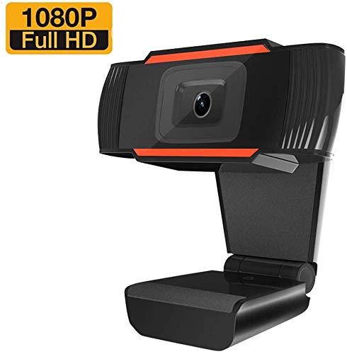 Seinal Webcam mit Mikrofon, Full HD 1080P Streaming Webcam für PC, Laptop, Mac, Plug-and-Play Webcam USB mit Autofokus und Weitwinkel für YouTube, Skype Videoanrufe, Lernen, Konferenz, Spielen