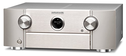 Marantz SR6010/N1SG 7.2 AV-Receiver (7x 185W, Bluetooth, Spotify connect, Airplay, Phono, 7-HDMI Eingänge, 2-Ausgäng) schwarz/silbergold