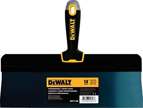 DEWALT DXTT-2-186 Taping-Messer, 35,6 cm, blauer Stahl mit weichem Griff