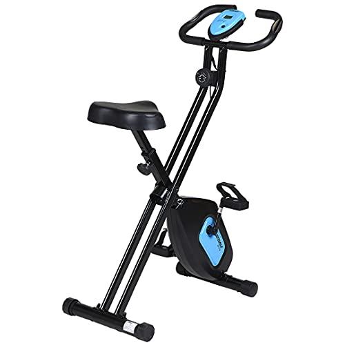 CARE FITNESS Bicicleta Plegable SV 316, Unisex Adulto, Azul, 107,5
