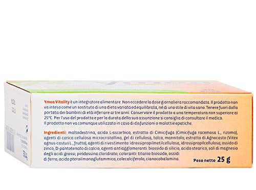Ymea Integratore Alimentare Vitality - 30 Capsule