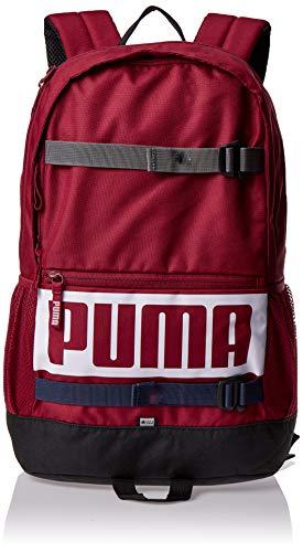PUMA Unisex– Erwachsene Deck Backpack Rucksack, Rhubarb, OSFA