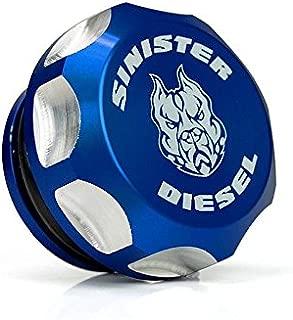 Sinister Diesel Billet Fuel Plug/Cap for 2013-2018 Dodge Cummins 6.7