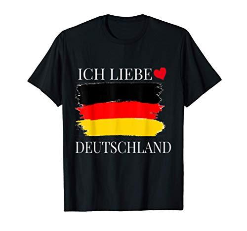 Ich Liebe Deutschland T-Shirt I Love Germany T-Shirt