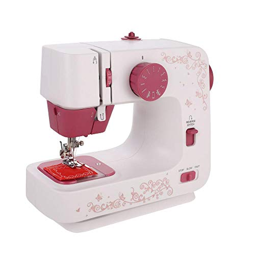 Find Bargain Comeon Sewing Machine 12 Thread Hand-held Household Sewing Machine for Beginners and Ch...