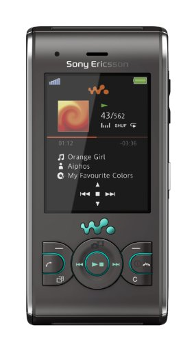 Sony Ericsson W595 Handy (Bluetooth, 3.2MP, 2GB Memory Stick, Walkman, UKW-Radio) Jungle Grey