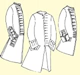 1750's Coat with Military Variations for the Officer or Enlisted Man (52' Chest)