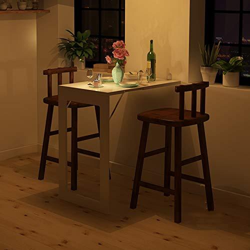 ZYZYZY Pared Plegable-Mounted Drop-Hoja Tabla Invisible Mural Escritorio De Computadora Mesa De Comedor De La Cocina Mesa Plegable Ahorro De Espacio-