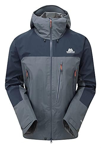 Mountain Equipment Mens LHOTSE Jacket Ombre Blue/Cosmos (Medium Gore-TEX)