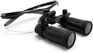 Magnifier Dental Surgical Medical Binocular Loupes 5 X 360-420mm Optical Glass Loupes Frame Binocular High Magnifiers for Brain Cardiac Surgery