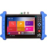 7 Inch Touch Screen Security CCTV Tester-Support IP/CVBS/4K Coax Camera/SDI-with HDMI Input/Network Tool/Wire