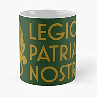 Legio Patria Nostra Foreign Legion Warrior Etrangere Shirt Coffee Mugs Best Gift 11 Oz