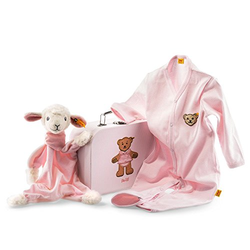 Steiff 240515 Geschenkset Träum-süß-Lamm Schmuset, rosa