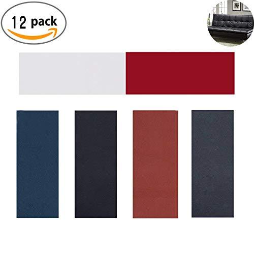 Totofy Patch di Riparazione in Pelle Marrone 1pcs Patch Pelle Adesiva,per Divano seggiolino Auto 25 x 30 cm Giacca mobili Zaino