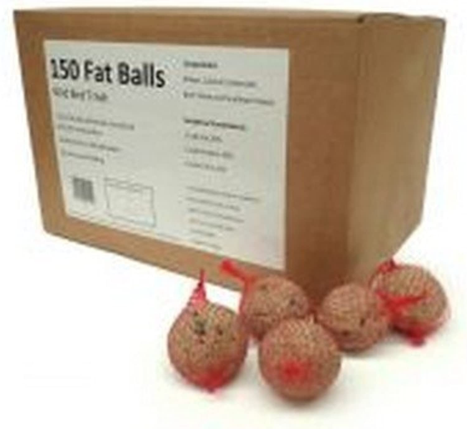 Marriages Fat Balls Bulk Netted Bird Treat (Pack of 150) (One Size) (May Vary)