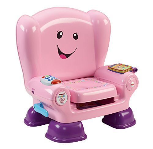 Fisher-Price – Laugh & Learn – Smart Stages Chair – Chaise Éveil Progressif Version Anglaise