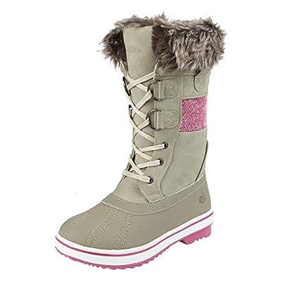 Northside Girls' Bishop JR Snow Boot, Birch, 5 Medium US Little Kid