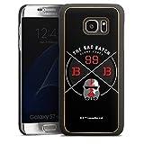 DeinDesign Coque en Bois Compatible avec Samsung Galaxy S7 Edge Coque en Bois veritable Coque de...