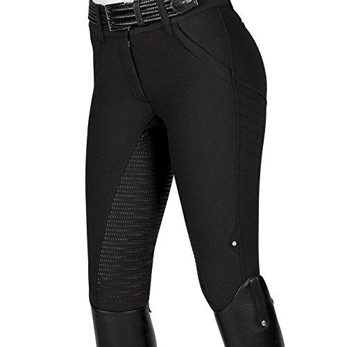Equiline Reithose X-Shape Full Grip | Farbe: black | Größe: 42 (46)