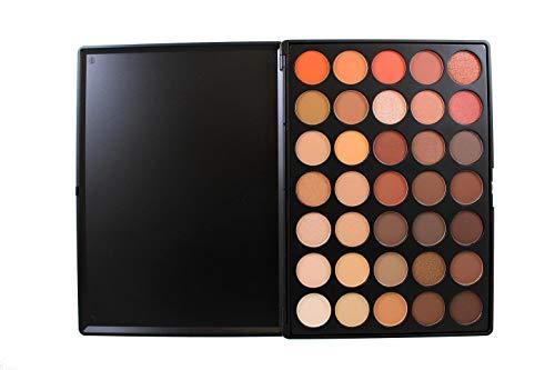 Morphe Brushes Naturliche Farben, Glanzlidschatten-Palette, 350 - 35, Palette, Volle Größe