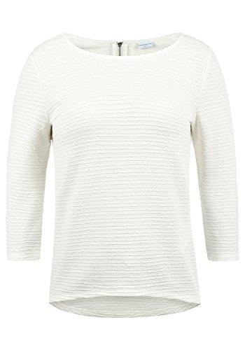 ONLY Gretel Damen Sweatshirt Pullover Sweater Mit Rundhalsausschnitt, Größe:L, Farbe:Cloud Dancer