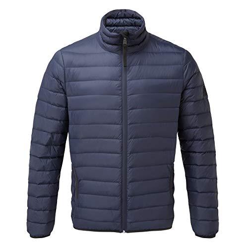 TOG 24 Elite Lightweight Mens Ultrawarm Winter Padded Down Filled Puffer Jacket Navy Blue M