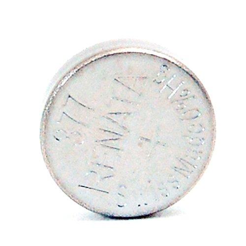 Renata / Swatch Group - Pila bottone ossido d'argento 377 RENATA 1.55V 28mAh - Blister x 1