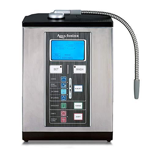 Aqua Ionizer Deluxe 9.0 Aqua-Ionizer Pro Alkaline Water Ionizer Machine  - Key Features