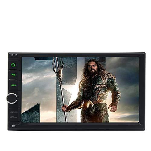EINCAR Autoradio mit Bluetooth und Rückfahrkamera 7-Zoll-Touchscreen Android 8.1 Radio Double Din GPS-Navigationskopf Core 2 GB RAM 32 GB ROM FM AM Radioempfänger USB SD WiFi 2D / 3D-Karte 1080P SWC
