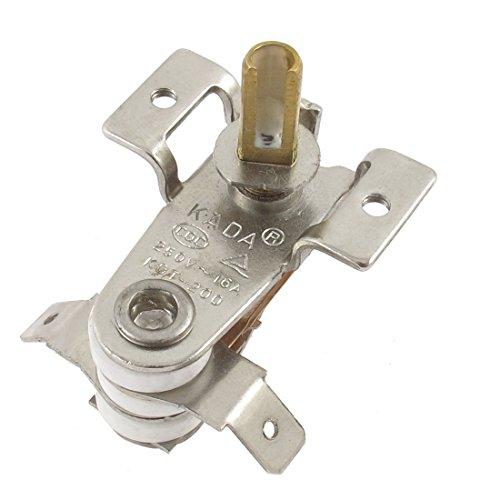Sourcingmap® AC 250V 16A 85C Bimetall verstellbar Thermostat für elektrische Heizung de