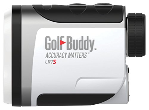 Golf Buddy LR7S Compact & Easy-to-Use Laser Rangefinder Slope Feature On/Off Function, White/Black, Small