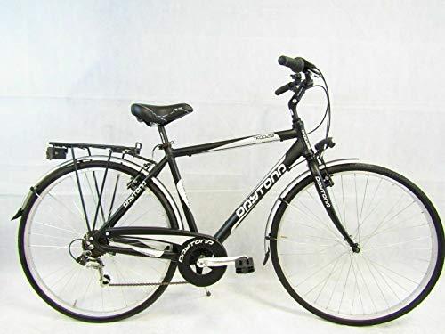 Daytona bicicletta uomo bici da passeggio city bike 28 trekking in ALLUMINIO 6 velocita' (M (mt.1,60/1,75))