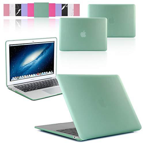 GUPi Rubberized Hard Shell Case Cover for Apple MacBook [11-inch Air - A1370 / A1465-2010-2015], [AQUA BLUE]