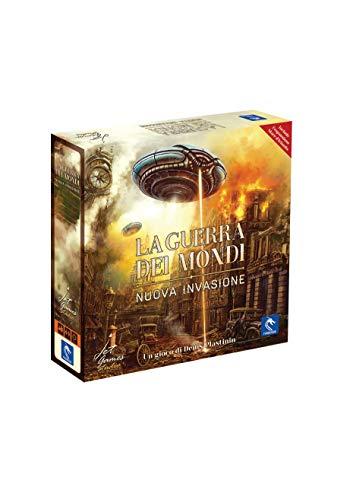 Asmodee-La Guerra dei Mondi, Nuova Invasione-Gioco da Tavolo Pendragon Game Studio Edizione in Italiano, 0476