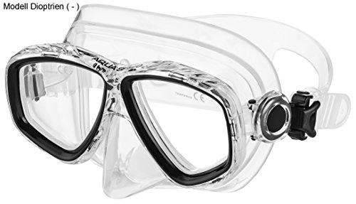 Aqua Speed - Optic PRO Taucherbrille mit Sehstärke/Dioptrien Rechts/Links individuell von +1,75; +2,25; +2,75 und -1,5 bis -8,5 | Tauchmaske | Schnorchelmaske | 07