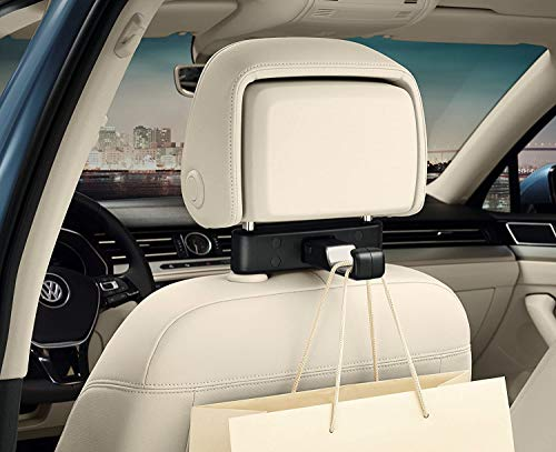 Volkswagen 000061126b Original Gancho Universal para el reposacabezas, Viaje y Comodidad Sistema