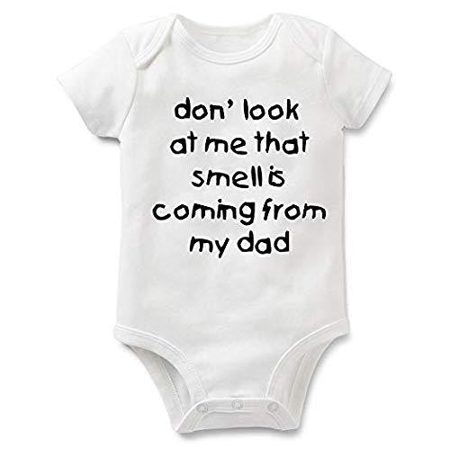 Rocksir Funny Slogan Super Soft Cotton Comfy Baby Short Sleeve...