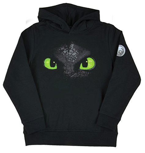 Dragons Hoodie Toothless black, 9-10 Years (EU140-146)