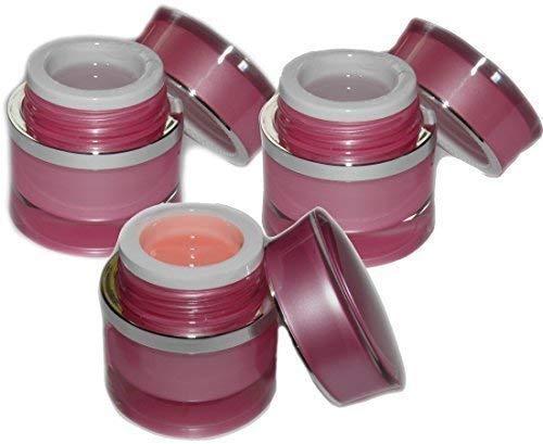 Beautyline Unghie Gel Set Naturale 3x15ml : Make Up Ricostruzione, Gel Adesivo, Versiegelungel
