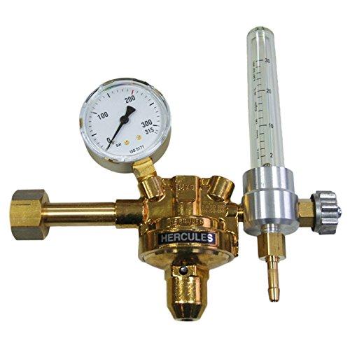 HERCULES Druckminderer Argon/CO2 Druckregler Druckventil Schutzgas Schweißen