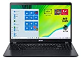 Acer Aspire 3 A315-42-R8D9 Notebook con Processore AMD Ryzen 7 3700U, Ram da 8 GB DDR4, 512 GB PCIe NVMe SSD, Display 15,6' FHD LED LCD, Scheda Grafica AMD Radeon RX Vega 10, Windows 10 Home, Nero