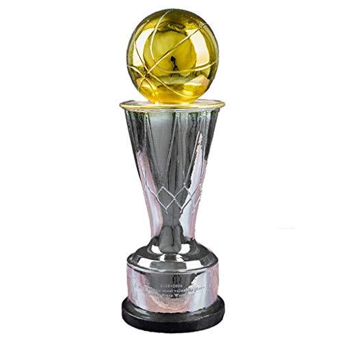 Trofeo del Campeonato de la NBA Trofeo FMVPH Trofeo MVP NBA Apto para Ventiladores/Decoración para el hogar/de Regalo/Premios para Varios Partidos de Baloncesto, personalización Personal