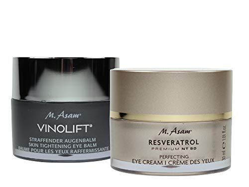 M. Asam® RESVERATROL PREMIUM NT50 Perfecting Eye Cream 30ml + Vinolift® Straffender Augenbalm 30ml
