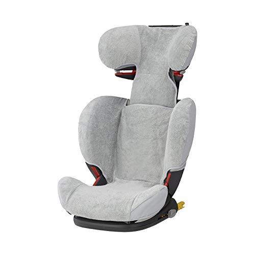 Maxi-Cosi 2499790110 Maxi-Cosi Sommerbezug, passend für Rodifix AP Kindersitz, Schonbezug Autositz, Bezug für die warmen Sommertage, Fresh Grey (passt nicht auf RODI SPS), grau
