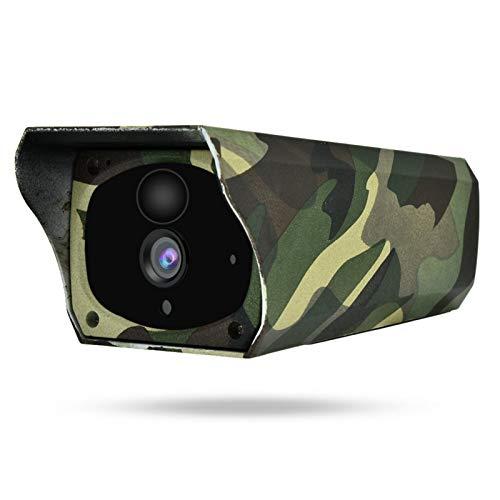 Exliy Cámara inalámbrica IP66 a Prueba de Agua Cámara multifunción HD 1080P Cámara Exterior de 64 GB con Altavoz Interno micrófono Incorporado