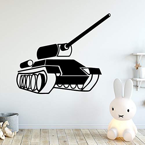 Ofomox Pegatinas de Pared de Tanque Pegatinas de Pared decoración del hogar decoración de la habitación de los niños Accesorios de Muebles Pegatinas de pared48X55CM
