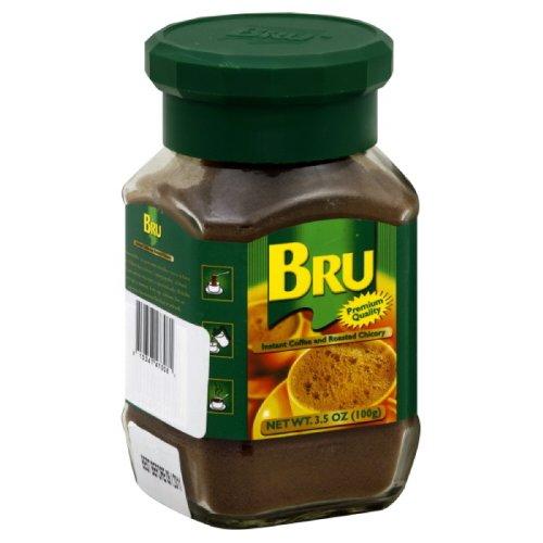 Bru Coffee, 3.5-ounces (Pack of 4)