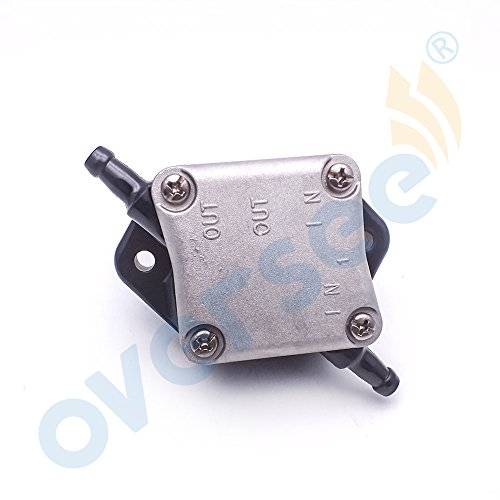 OVERSEE 6C5-24410-00 Fuel Pump Assy For Yamaha Outboard Motor 4 Stroke F T 30HP 40HP 50HP 60HP, Boat Motor Replacement Fuel Pump Aftermarket Parts 6C5-24410
