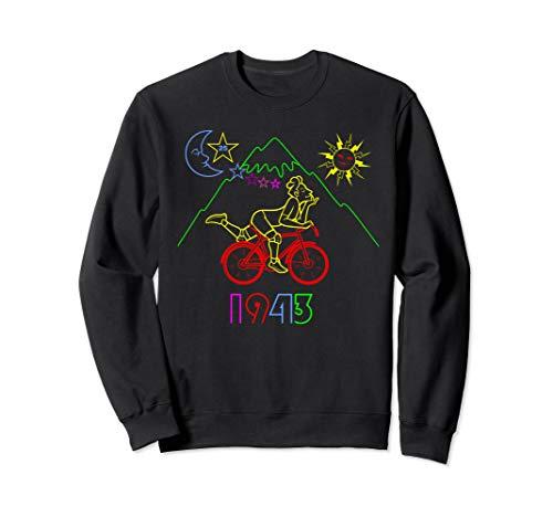Hofmann Bicycle Day 1943 LSD Acid Trip Gift Sweatshirt